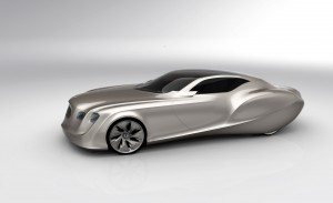 Bora Kim's winning design for the Bentley Aero project 2010