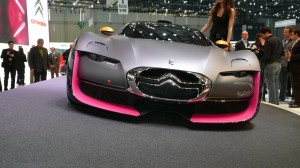 Citroën Survolt concept at Geneva