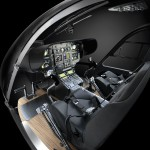 Eurocopter EC45 Mercedes-Benz Style. The R-Class inspired modular interior enables the seats to be easily reconfigured or removed to create extra luggage space.