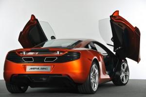 The McLaren MP4-12C car