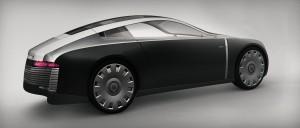 Marten Wallgren's shortlisted design for the RCA/Bentley aero project
