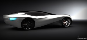 Miika Heikkinen's design for the RCA/Bentley aero project