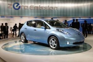 Nissan Leaf production EV
