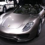 Porsche 918 Spyder concept at Geneva
