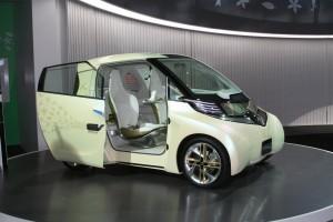 Toyota FT-EV urban electric car concept