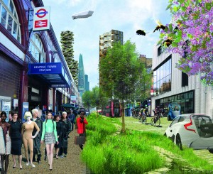 Alison Brooks Architects' early proposal for urban future