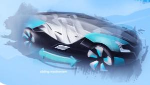 Dalibor Pantucek's 'One-car ideology' concept for Skoda