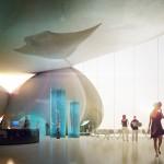 Entrance: Batumi Aquarium © Henning Larsen Architects