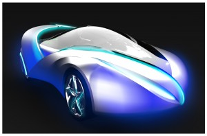 Jong Won Lee's concept 'the car of light'
