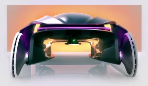 Marten Wallgren's winning 'Pause': a system of on-demand vehicles