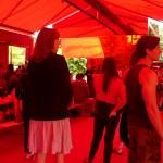 Press day at Jean Nouvel's Serpentine Pavilion © NSBanks
