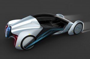 Rui Guo's concept for a sustainable car for China