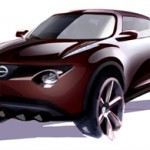 Nissan Juke concept of 2009 by Tamiko Suzuki took inspiration from anime and manga