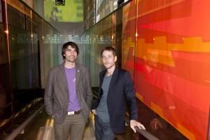 Cristian Zuzunaga (right) of Kvadrat ©Tom Fallon