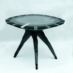 Cardboard & Resin Table by El Ultimo Grito for the Royal College of Art