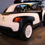 Citroen Lacoste concept created with the French fashion brand