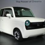 Honda designer Kanna Sumiyoshi EV-N concept of 2009