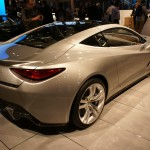 Lotus Elite, a front-engined, 2+2 super-coupe with super car price tag, due to be launched in 2014