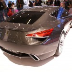 Lotus Eterne, a four-door super saloon with its GT credentials and according to CEO Dany Bahar 'it's a deliberate and considered stand-alone creation'