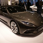 Lotus Eterne, , a four-door super saloon with its GT credentials and according to CEO Dany Bahar 'it's a deliberate and considered stand-alone creation'