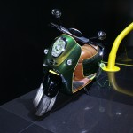 Mini E Scooter, all all-electric scooter concept