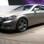 Mercedes-Benz CLS is the second-generation four door coupe production car ©Nargess Shahmanesh Banks