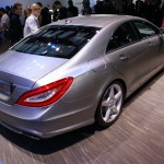 Mercedes-Benz CLS is the second-generation four door coupe production car