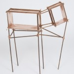 Naturally False cabinet by Els Woldhek for the Royal College of Art