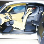 Nissan Townpod interior, the concept is an insight into its future zero-emission vehicle design