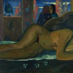 Paul Gauguin, Nevermore O Tahiti 1897, ©Courtauld Gallery, London, Oil on canvas, 600 x 1160 mm