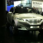 Peugeot HR1, a niche somewhere between city run-around, coupé and SUV