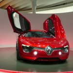 Renault DeZir Concept is a mid-engined, all-electric sports car which points to the new design direction