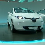 Renault Zoe concept is an all-electric car