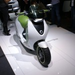 Smart E Scooter is a plug-in electric two-wheeler