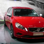 Volvo V60 production car represents a less boxy design direction