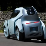 Nissan Land Glider Electric concept car