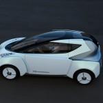 Nissan Land Glider electric city car