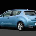 Nissan Leaf electric production car