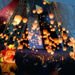 Lantern festival at the 3x3x3 Tower ©Broadway Malyan