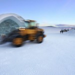 Ice Hotel structure used to form the Legacy of the River Suite ©Rousseau Design & I-N-D-J