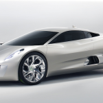 The Jaguar C-X75 concept