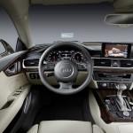 Inside the Audi A7 Sportback