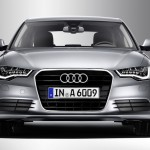 Audi A6 front design featuring special light design