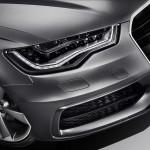 Audi A6 LED light detail