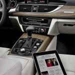 Audi A6 mixes high-tech and organic material