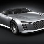 Audi 2010 e-tron Spyder concept