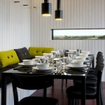 NORD Shingle House dining area - courtesy of Living Architecture