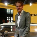 Adrian Van Hooydonk with the MINI Rocketman Geneva 2011