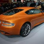 Aston Martin Virage production car at Geneva Motor Show 2011
