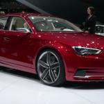 Audi A3 Saloon concept at Geneva Motor Show 2011 © Nargess Shahmanesh Banks